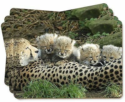Cheetah and Newborn Babies Picture Placemats in Gift Box, AT-39P