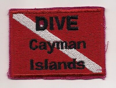 Souvenir Patch - Country Of Cayman Islands -Diving