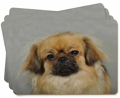 Tibetan Spaniel Dog Picture Placemats in Gift Box, AD-TS2P
