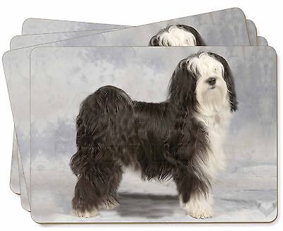 Tibetan Terrier Dog Picture Placemats in Gift Box, AD-TT3P