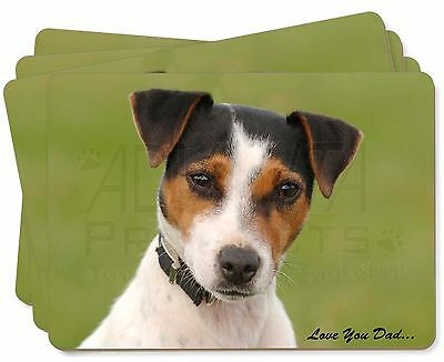 Jack Russell 'Love You Dad' Picture Placemats in Gift Box, DAD-60P