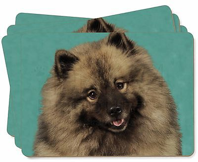 Keeshond Dog Picture Placemats in Gift Box, AD-KEE1P