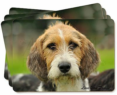 Fox Hound 'Love You Dad' Picture Placemats in Gift Box, DAD-30P