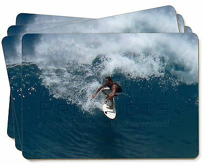 Surf Board Surfing - Water Sports Picture Placemats in Gift Box, SPO-S3P