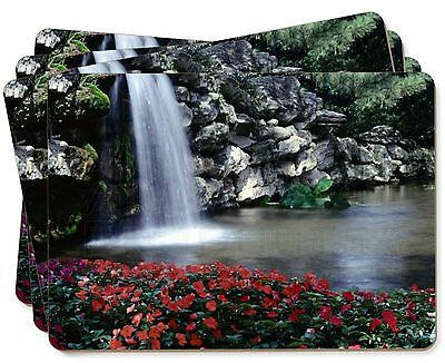 Tranquil Waterfall Picture Placemats in Gift Box, W-5P