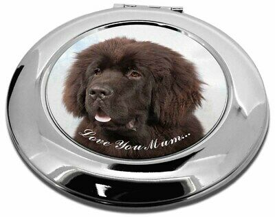 Newfoundland Dog /'Love You Mum/' Christmas Tree Bauble Decoration Gi AD-NF3lymCB