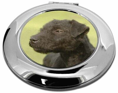 Patterdale Terrier Dogs Make-Up Round Compact Mirror Christmas Gift, AD-PT1CMR