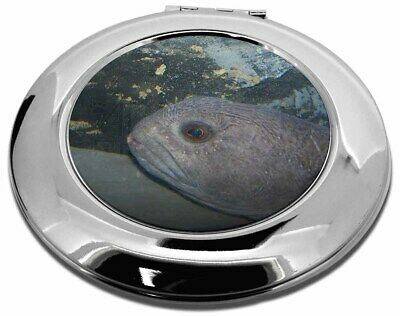 Ugly Fish Make-Up Round Compact Mirror Christmas Gift, AF-26CMR