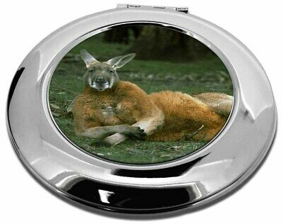 Cheeky Kangaroo Make-Up Round Compact Mirror Christmas Gift, AK-1CMR