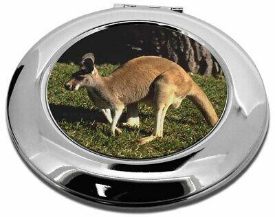 Kangaroo Make-Up Round Compact Mirror Christmas Gift, AK-2CMR