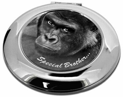 'Special Brother' Gorilla Make-Up Round Compact Mirror Christmas Gi, AM-6BRO1CMR