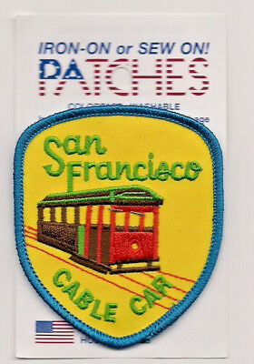 City of San Francisco Souvenir Patch Blue Edges