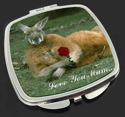 Kangaroo+Rose 'Love You Mum' Make-Up Compact Mirror Stocking Filler , AK-1RlymCM