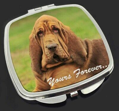 """Blood Hound Dog """"Yours Forever..."""" Make-Up Compact Mirror Stocking Fi, AD-BH7yCM"""