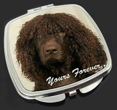 Irish Water Spaniel 'Yours Forever' Make-Up Compact Mirror Stocking F, AD-IWSyCM