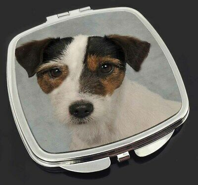 AD-JR55CM Jack Russell Terrier Dog Make-Up Compact Mirror Stocking Filler Gift