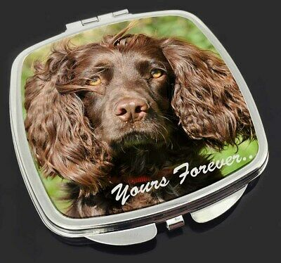 Chocolate Spaniel 'Yours Forever' Make-Up Compact Mirror Stocking Fil, AD-SC4yCM