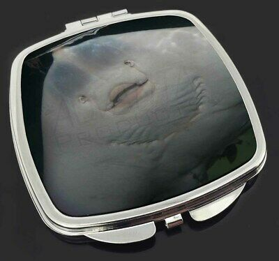 The Face of a Cute Stingray Make-Up Compact Mirror Stocking Filler Gift, AF-R1CM