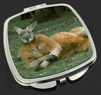 Cheeky Kangaroo Make-Up Compact Mirror Stocking Filler Gift, AK-1CM