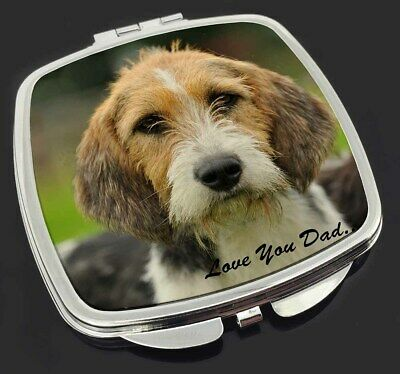 Fox Hound 'Love You Dad' Make-Up Compact Mirror Stocking Filler Gift, DAD-30CM