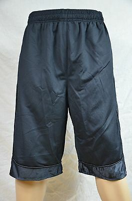 Pro Club Mesh Short Pants Black Gym Heavy Weight Basketball Mens Jersey S-7Xl