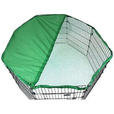 Sunshield Safety Cover for Metal Run Sunshade Netting Rabbit Pet Dog Cat Easipet