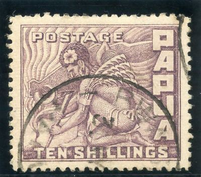 Papua 1932 KGV 10s violet very fine used. SG 144. Sc 108.