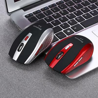 Mini Wireless Bluetooth 3.0 6D 2400DPI Optical Gaming Mouse Mice For Laptop PC