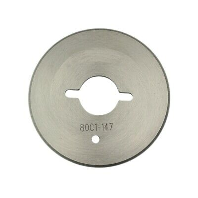 """2-1/4"""" Round Replacement Blade For Eastman Chickadee D2 Rotary Electric Cutters"""