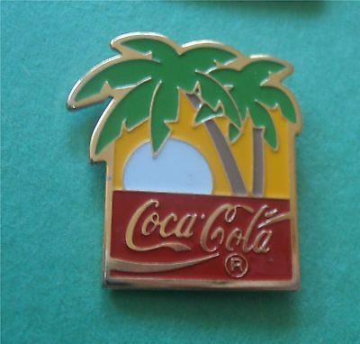 Sun Setting Under Palm Trees - Coca-Cola COKE Advertising New Metal Magnet