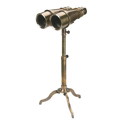 Fernglas mit Stativ - Victorian Binoculars Tripod Authentic Models Messing