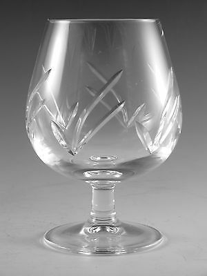 "EDINBURGH Crystal - MRUK6 Cut - Brandy Glass / Glasses - 4 3/4"" (1st)"