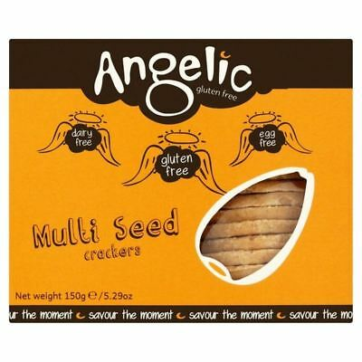 Angelic Gluten Free Multi Seed Crackers 150g