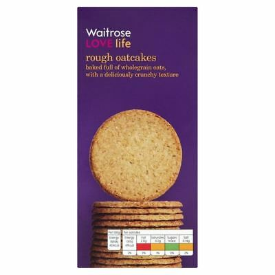 Rough Oatcakes Waitrose Love Life 250g