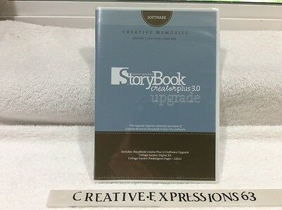 Creative Memories B/N StoryBook Creator Plus 3.0 Upgrade