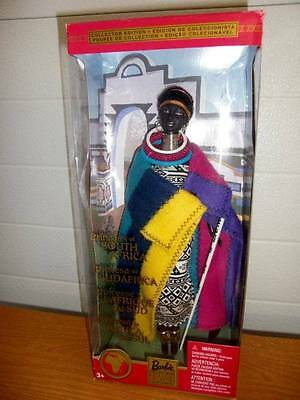 Mattel ~ Princess of South Africa DOTW 2002 ~ NIB