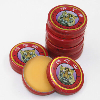 10 Pcs Popular Chinese tiger balm For Cold headache Muscle Relaxing Oil Massage