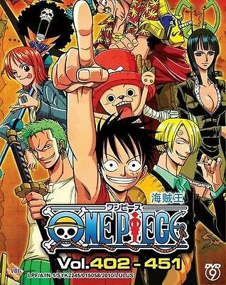 ONE PIECE TV Box 09 | Episodes 402-451 | English Subs | 4 DVDs (VBG0067)-LU