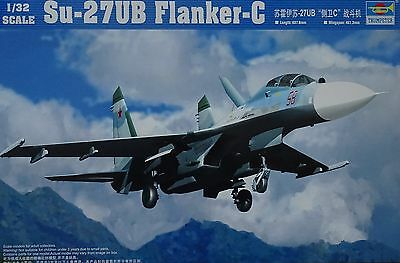 TRUMPETER® 02270 Su-27UB Flanker-C in 1:32