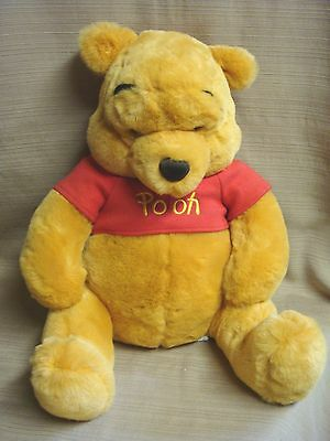 """15"""" Soft & Cuddly WINNIE THE POOH BEAR from THE DISNEY STORE"""