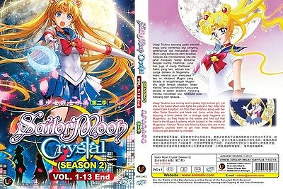 MEGA Sailor Moon | TV S1-S5+Movies+Crystal S1+S2+Live | 291 Eps | 15 DVDs-LU