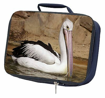 Pelican Print Navy Insulated Lunch Box, AB-68LBN