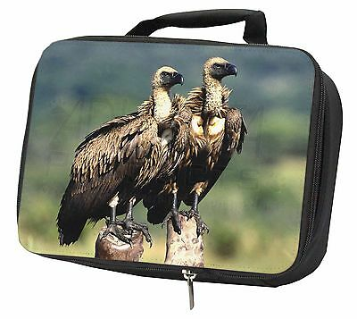 Vultures on Watch Black Insulated Lunch Box, AB-92LBB