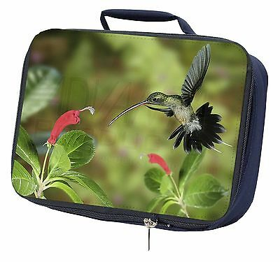 Green Hermit Humming Bird Navy Insulated Lunch Box, AB-95LBN