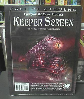 Call of Cthulhu RPG Horror On The Orient Express Keeper Screen