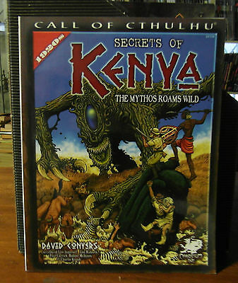 Call of Cthulhu RPG Secrets of Kenya Sourcebook Chaosium