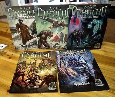 Call of Cthulhu RPG Age of Cthulhu Modules Goodman Games Multilisting Chaosium