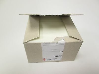 Box of 45 New ABB RC610 Vierge Markers for Terminal Blocks Blank White 100/Sheet