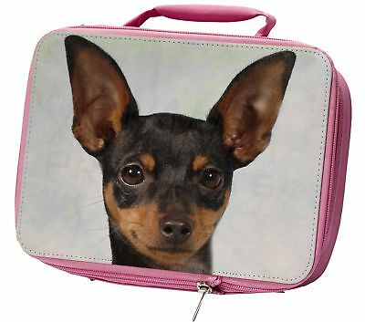 English Toy Terrier Dog Insulated Pink Lunch Box, AD-ET1LBP