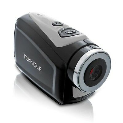 Tower Teknique 720p Action Camera Silver